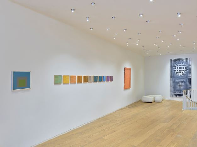 Exhibition view: Group Exhibition, Dynamic Visions, Tornabuoni Art, London (9 October–12 December 2020). Courtesy Tornabuoni Art.