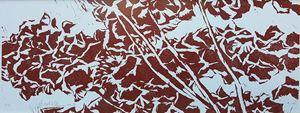 Red Hydrangea III by Yu Jen-chih contemporary artwork