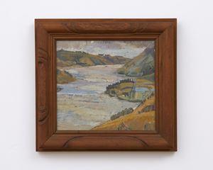Otago Harbour Landscape by Anne Hamblett contemporary artwork