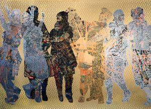 Frieze #4 by Aziz + Cucher contemporary artwork