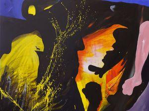Effi Briest by David Lehmann contemporary artwork painting
