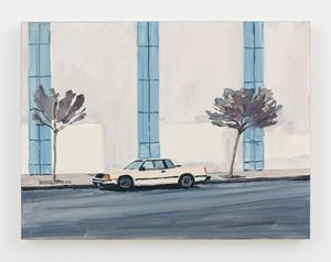 Parked Car by Jean-Philippe Delhomme contemporary artwork