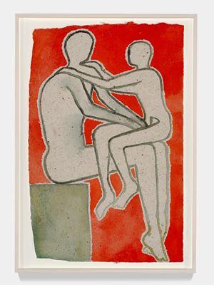 Notturno Indiano VI by Francesco Clemente contemporary artwork