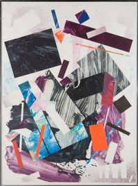 Plum Nellie, Snap, Crackle, Prop by Robert Reed contemporary artwork works on paper