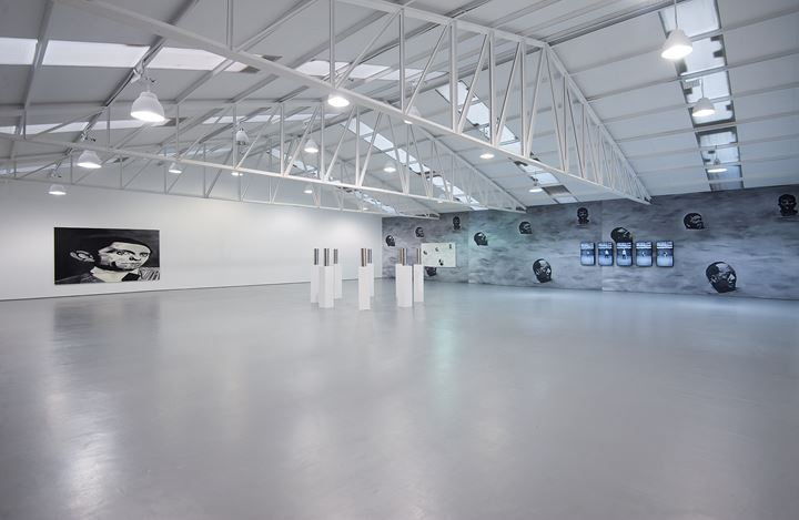 Exhibition view: Babak Golkar, The Longer You Can Look Back, The Farther You Can Look Forward, Sabrina Amrani Gallery, Sallaberry, 52, Madrid (25 January–28 March 2020). Courtesy Sabrina Amrani Gallery.