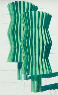 Trees by Alexandre Arrechea contemporary artwork works on paper