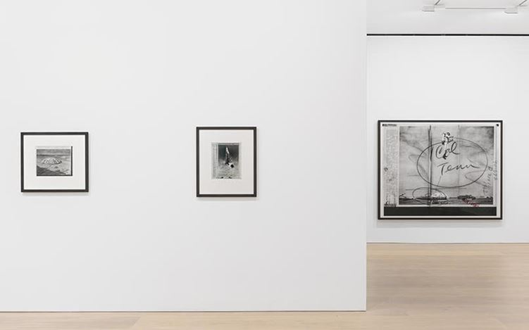 Exhibition view: Thomas Ruff, press++, David Zwirner, London (17 November–22 December 2016). Courtesy of David Zwirner, London.