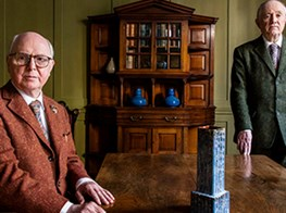 'We say what we want' … Gilbert and George look back on 50 years of filth, fury and in-your-face art