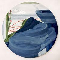 Vesuvio by Mojé Assefjah contemporary artwork painting