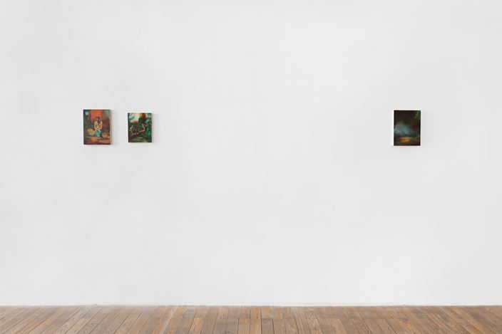 Exhibition view: Christopher Orr, HdM GALLERY, Beijing (18 July–21 August 2020). Courtesy HdM GALLERY.