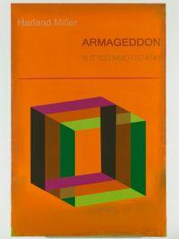 Armageddon by Harland Miller contemporary artwork print