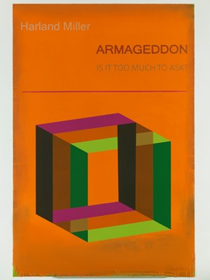 Armageddon by Harland Miller contemporary artwork