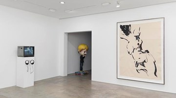 Lehmann Maupin contemporary art gallery in 536 West 22nd Street, New York, USA