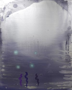오로라 깨뜨리기 by So Young Park contemporary artwork