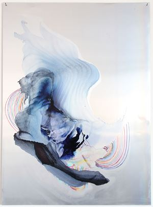 pukapuka by Myriam Holme contemporary artwork painting, drawing