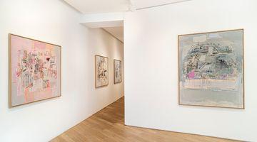 Contemporary art exhibition, Sarah Grilo, Indicios at Galerie Lelong & Co. Paris, 38 Avenue Matignon, Paris, France