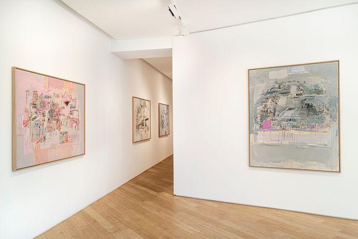 Exhibition view: Sarah Grilo,Indicios, Galerie Lelong & Co., Avenue Matignon, Paris (11 March–30 April 2021). Courtesy Galerie Lelong & Co.