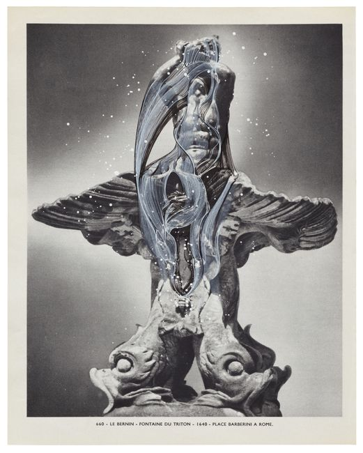 MUSÉE IMAGINAIRE, Plate 660 by Ann-Marie James contemporary artwork