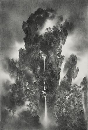 THE TWENTY-FOUR SOLAR TERMS: Light Snow 二十四節氣之小雪 by Cao Xiaoyang contemporary artwork