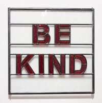 Be kind by Mary-Louise Browne contemporary artwork sculpture