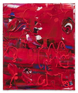 Red Dude by Michael Reafsnyder contemporary artwork