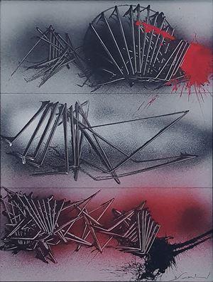 In tre tempi by Emilio Scanavino contemporary artwork