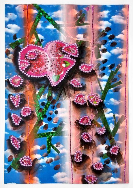 Rose of flesh by Lisa Vlaemminck contemporary artwork