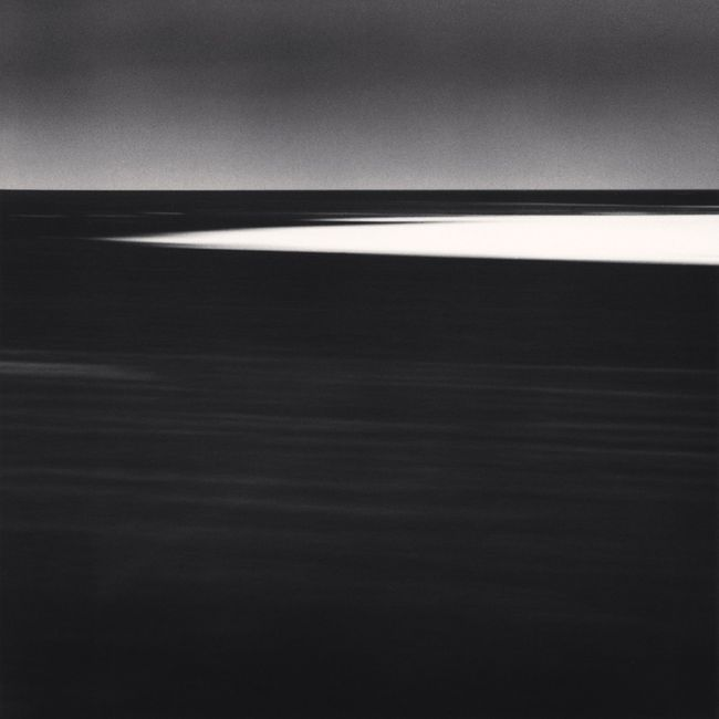 Ice Floe by Michael Kenna contemporary artwork