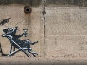 What Will Happen to Banksy's 'Spraycation' Works?