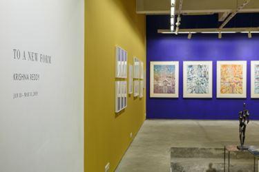 Exhibition view: Krishna Reddy, To a New Form, Experimenter, Kolkata (18 January–31 March 2019). Courtesy Experimenter.