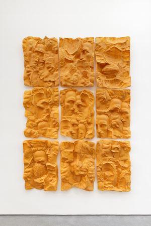 Oscar Han's Head of Eminescu by Ciprian Mureşan contemporary artwork