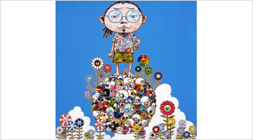 Contemporary art exhibition, Takashi Murakami, From Superflat to Bubblewrap at STPI - Creative Workshop & Gallery, Singapore