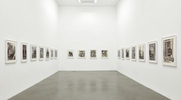 Contemporary art exhibition, Paul Anthony Harford, Real Life at Sadie Coles HQ, Davies Street, London