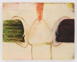 Received Ideas by Mira Schor contemporary artwork