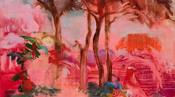 Contemporary art exhibition, Adrienne Gaha, Arcadia at Martin Browne Contemporary, Sydney