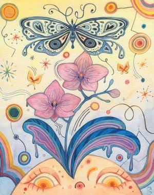 Spring by Charlotte Mui Ngo-Suet contemporary artwork
