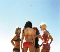 Four Girls by Alex Prager contemporary artwork photography