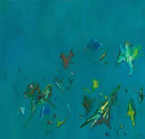 Landscape 124 《風景124》 by Cai Jin contemporary artwork