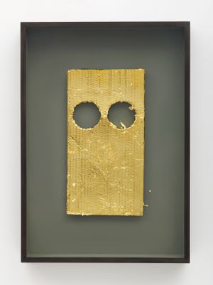Mask VII by Peter Liversidge contemporary artwork painting, works on paper, mixed media