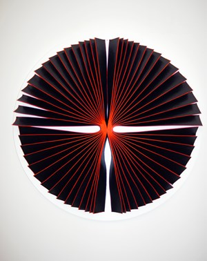 Bloodlight Strip: Fig. 10 by Marion Borgelt contemporary artwork