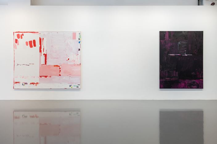 Exhibition view: Mary Ramsden, ZORRO, Pilar Corrias, London (4 July–9 August 2019). Courtesy the artist and Pilar Corrias. Photo: Damian Griffiths.