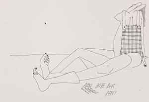 Babe by Christina Quarles contemporary artwork