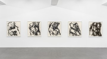 Contemporary art exhibition, William Tucker, Charcoal Drawings at Buchmann Galerie, Berlin