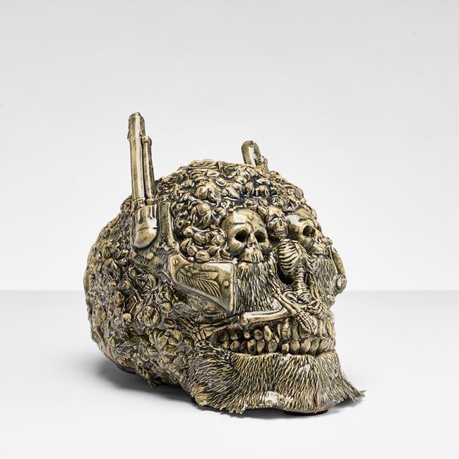 Skull by Carolein Smit contemporary artwork