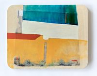 This wall keeps getting taller by Radhika Khimji contemporary artwork painting, works on paper, sculpture