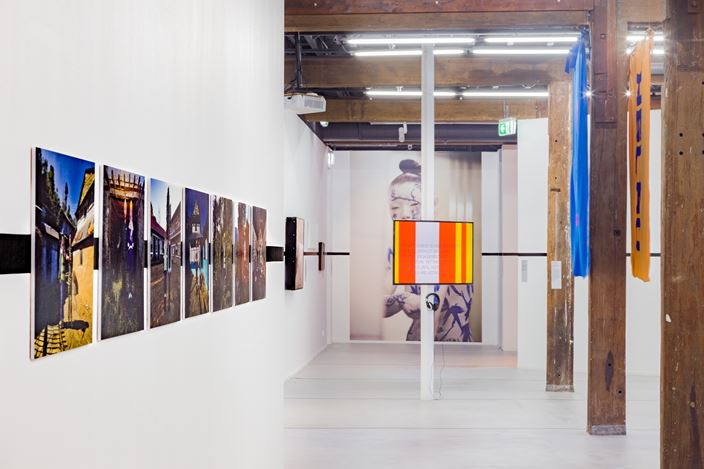 Exhibition view:52 ARTISTS 52 ACTIONS, Artspace, Sydney (18 May–4 August 2019).Photo:Docqment.