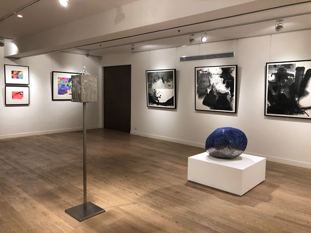 Exhibition view:Art Basel Pop-Up Exhibition: Contemporary Forms of Ink Painting, Alisan Fine Arts (4 April–4 July 2020). Courtesy Alisan Fine Arts.