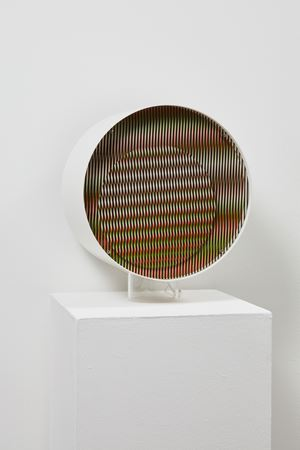 Chromointerference Mécanique C (ex 27/50) by Carlos Cruz-Diez contemporary artwork