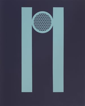 Victory II by Tess Jaray contemporary artwork