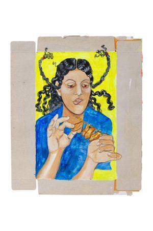 Monstresse qui aime le sucre by Neïla Czermak Ichti contemporary artwork